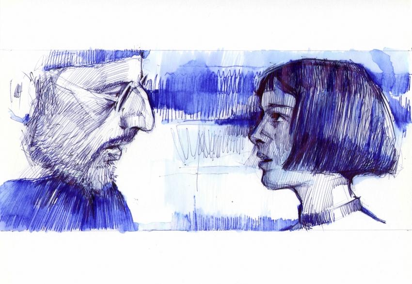Jean Reno by Vasiliy